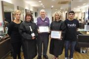 Fit Club: the Hob makeover group were among the prizes this year