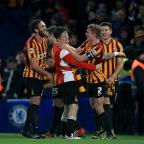 Hillingdon Times: Bradford City caused one of the biggest FA Cup shocks in recent years by beating Chelsea 4-2 at Stamford Bridge