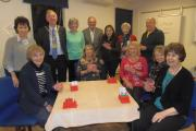 Take a card, have a cheque: members enjoy presentation night