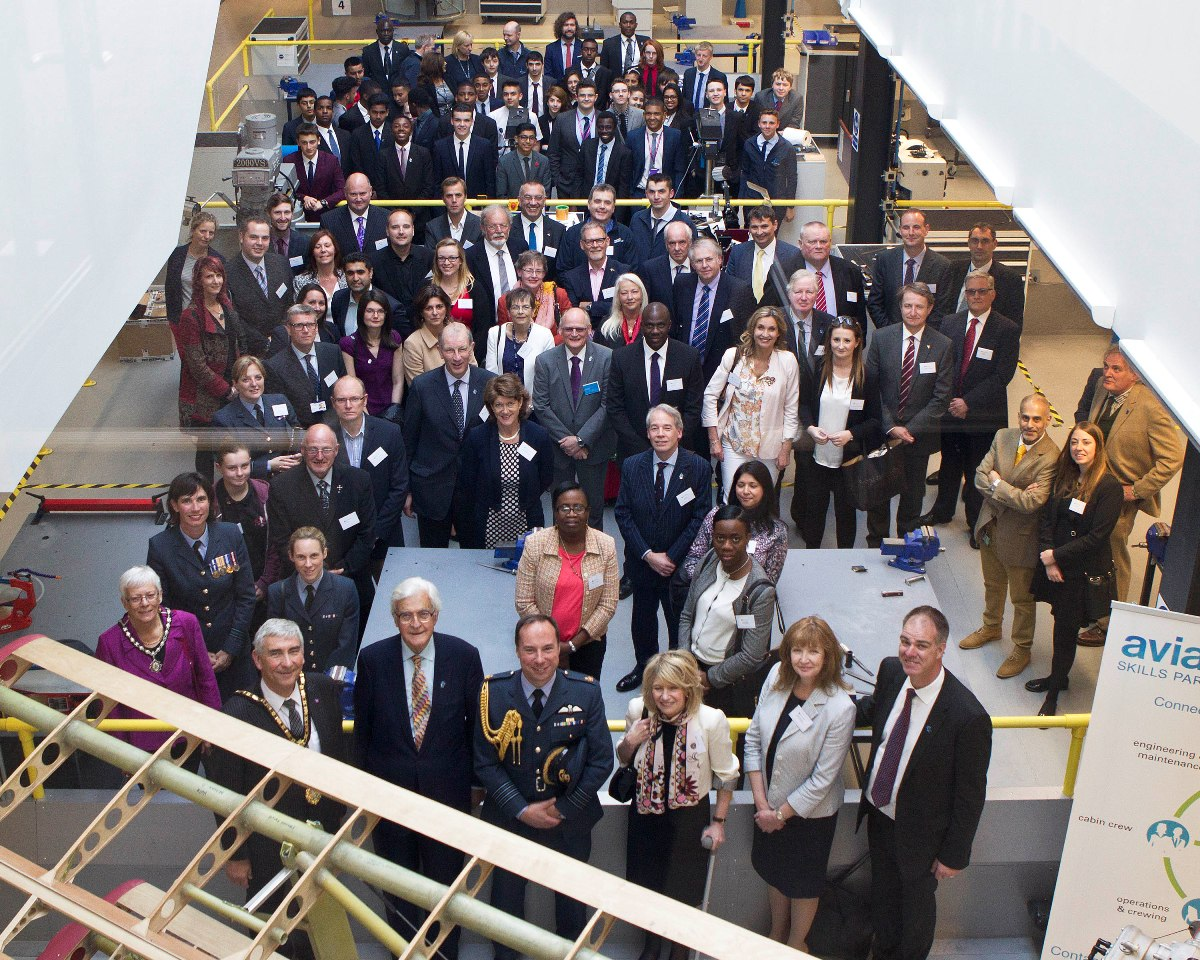 One for the album: official opening day at Heathrow UTC