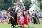 Warhorse jousters