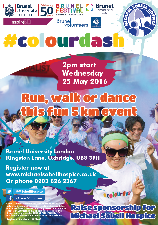 Colourdash in aid of Michael Sobell Hospice