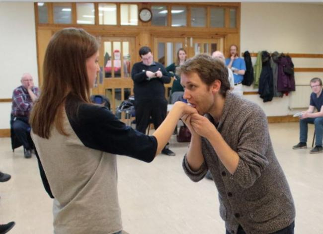 Rehearsals for Richard III
