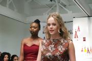 Creative Arts students from Uxbridge College showcased their work at end of year events including this dynamic fashion show