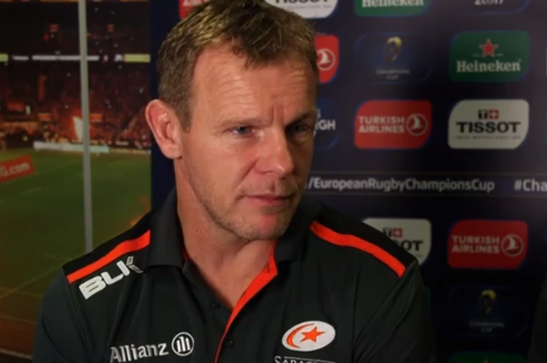 Mark McCall led Saracens to domestic and European glory last term