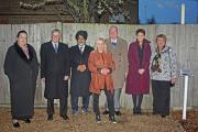 Cllr Lynne Allen; David Brough, Hayes Town Partnership; Ajaib Singh Puar, Hayes Town Business Forum; Lorraine Collins, Uxbridge College; Andrew Melvin, Deputy Mayor's Consort;Laraine Smith, Principal Uxbridge College;Carol Melvin, Deputy Mayor Hillingdon.