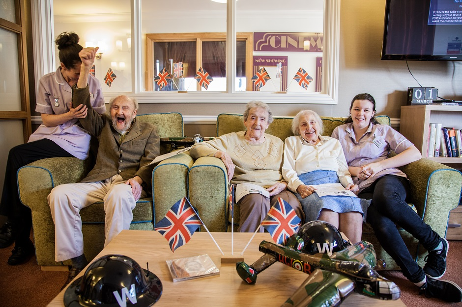 West Drayton care home celebrates Vera Lynn's 100th birthday with nationwide sing-along