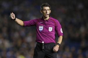 Lee Probert will take charge of his first Premier League game since