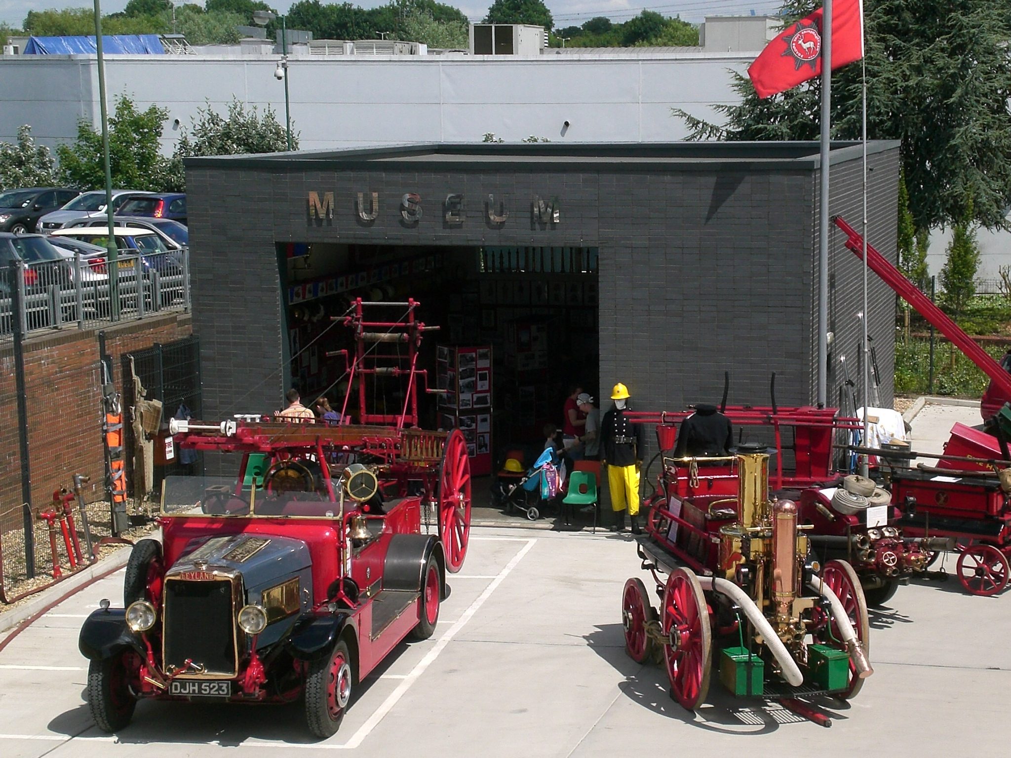 Herts Fire Brigade Museum Open Afternoon