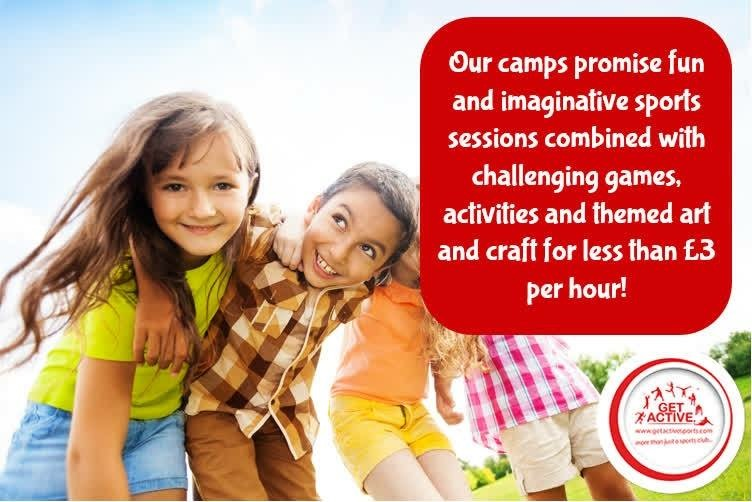 October Half Term Multi Activity Holiday Camp for children ages 4 to 16