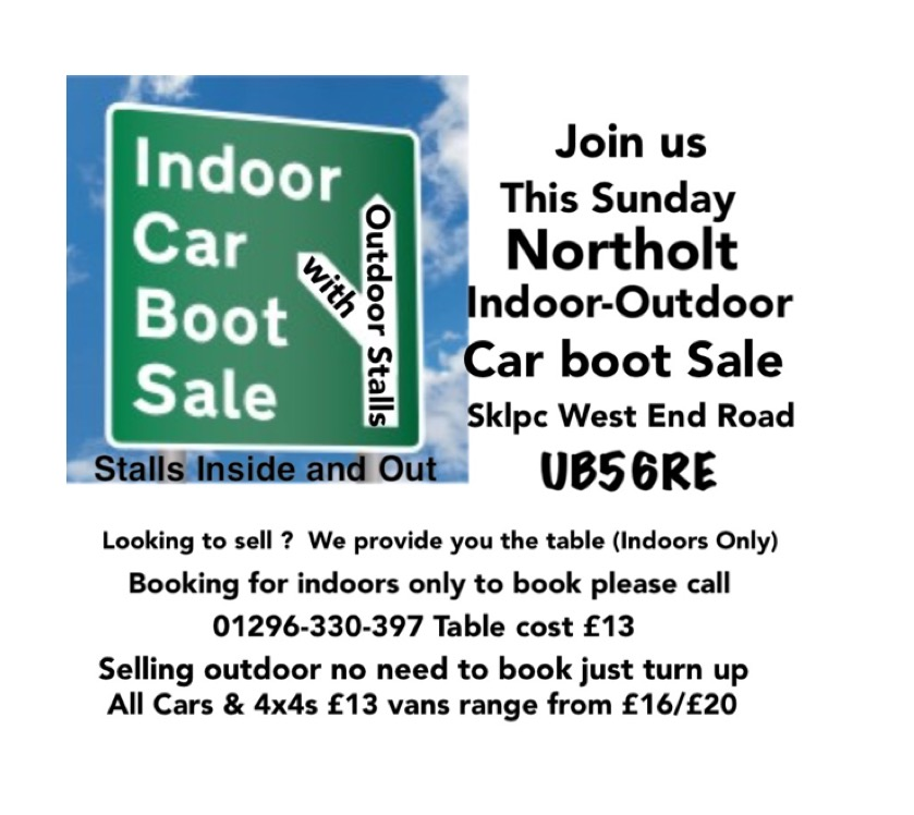 Northolt Indoor Car Boot Sale