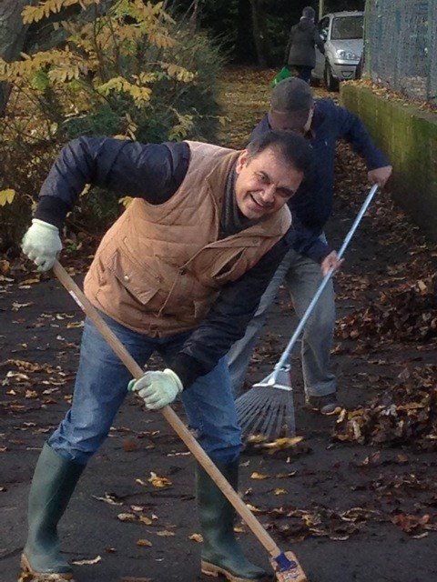 The organisers of the event, Friends of Harrow Weald Recreation Ground, regularly carry out work in the park