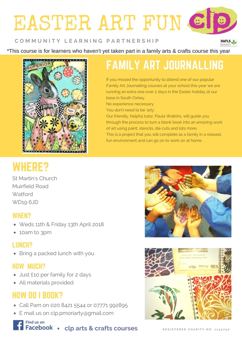 Easter Art Journalling for Families