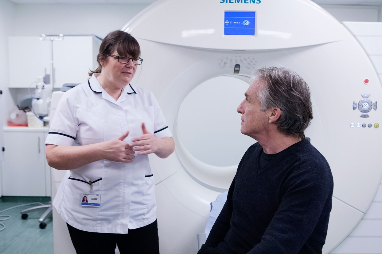Fresh hope: the new type of scan is leading the fight against prostate cancer
