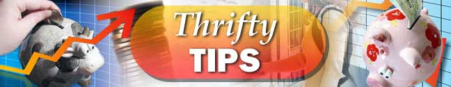 Thrifty Tips for Money Saving