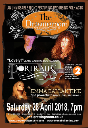 The Portraits with special guest Emma Ballantine