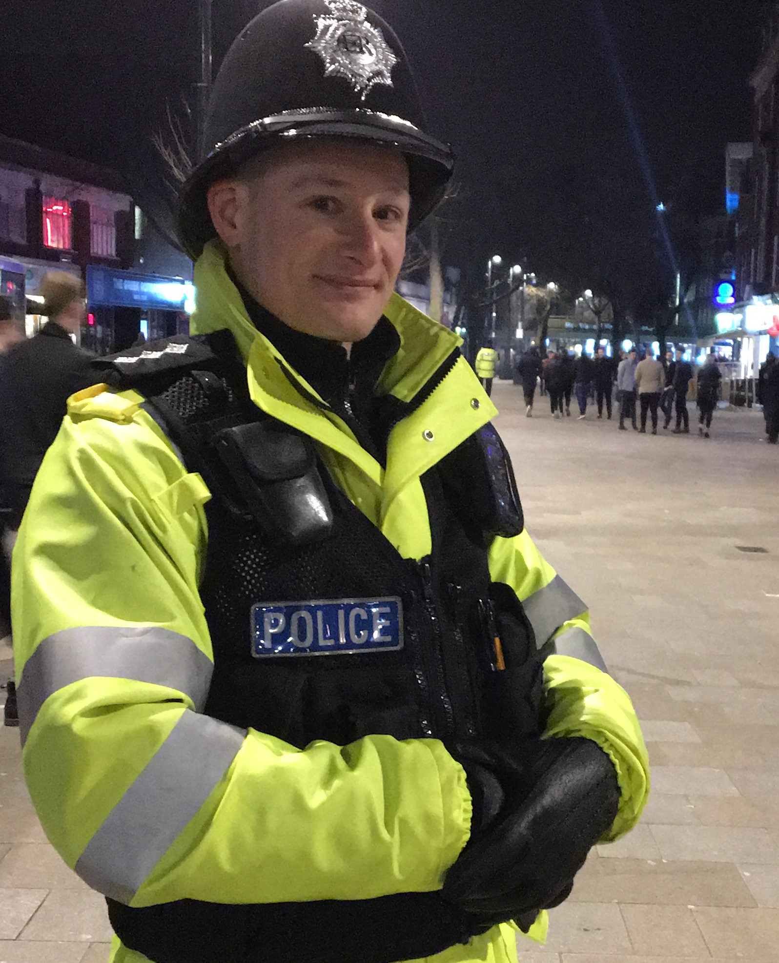 Watford chief inspector Matt Philips