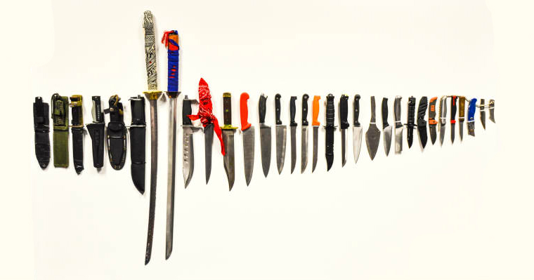 Police have been trying to crackdown on knife crime in London (Photo: Met Police)