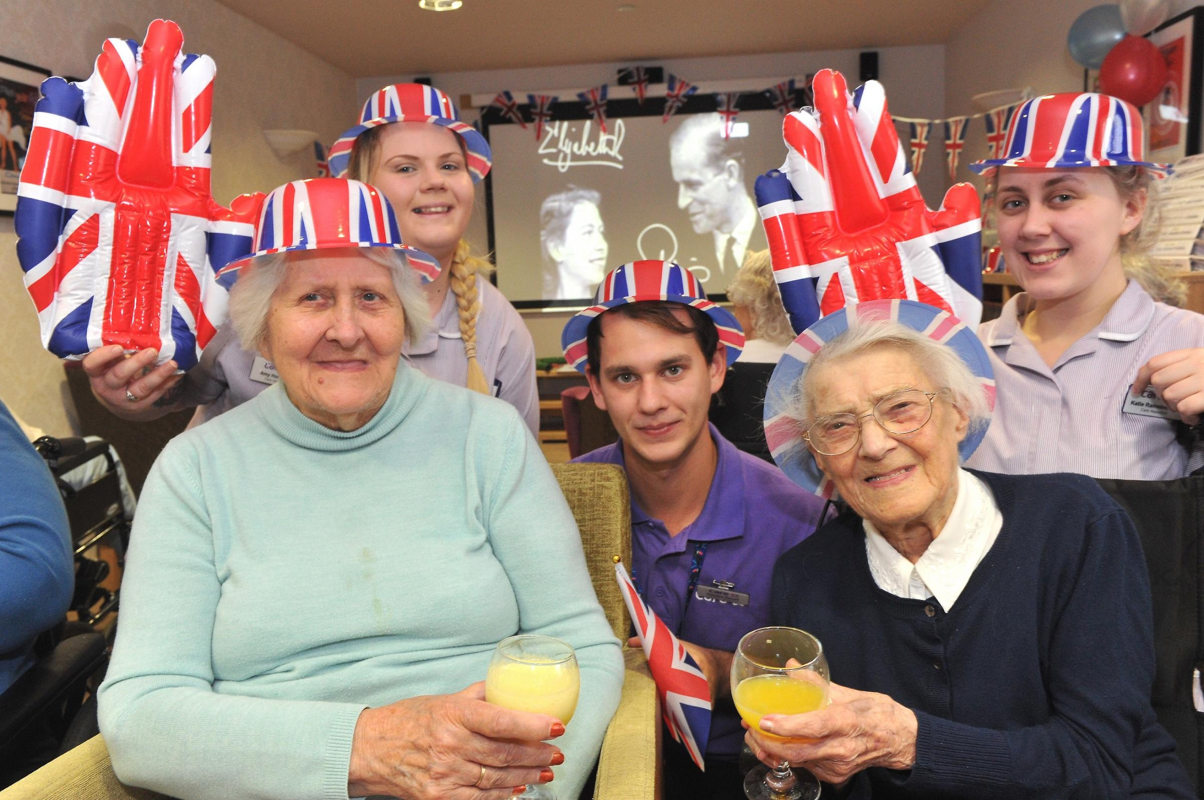 Care home's Royal Wedding party invitation to community