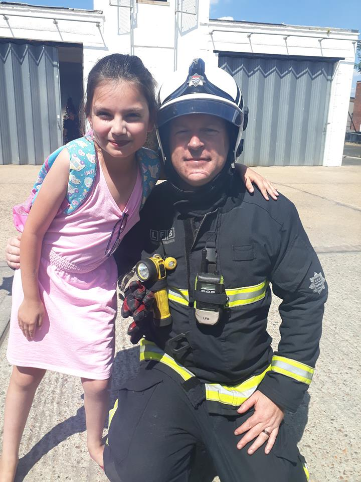 Community get to meet new borough commander at fire station open day