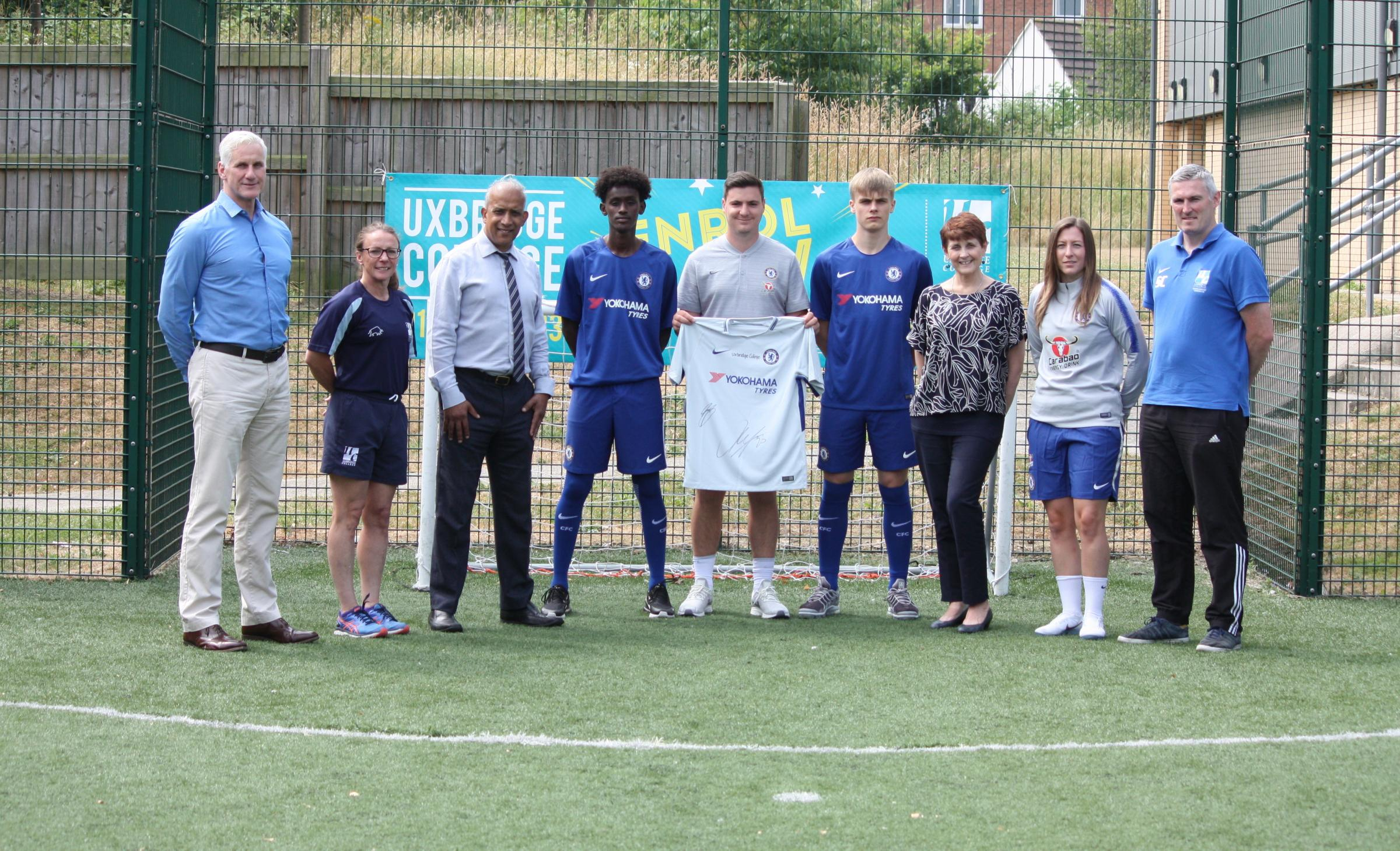 Chelsea Football Club announce partnership with Uxbridge College
