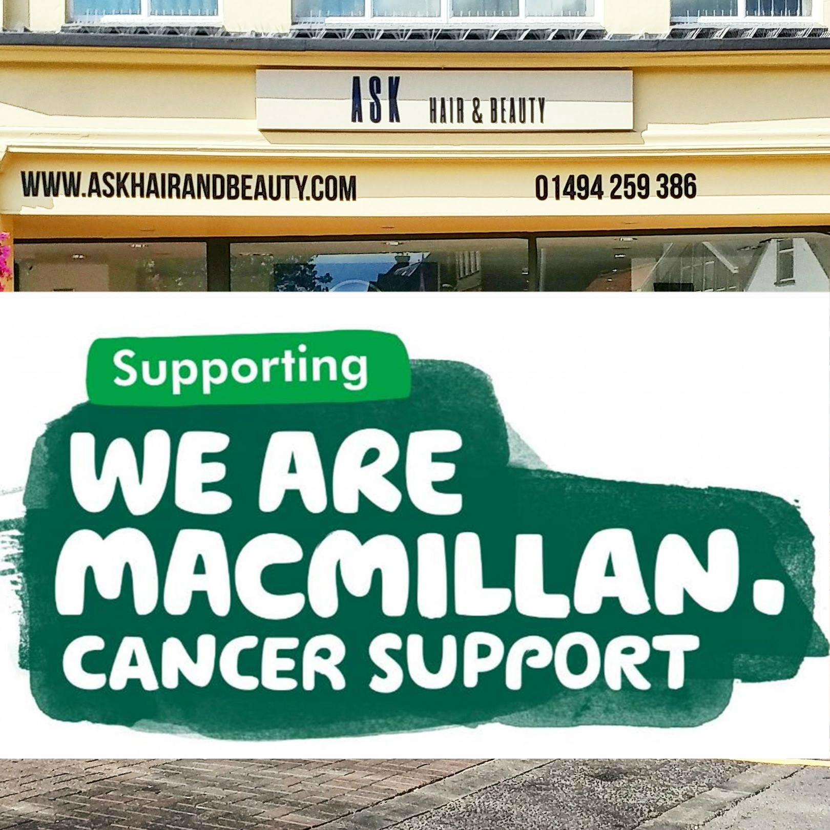 Macmillan Cancer Support Coffee Morning Hosted by A S K Hair & Beauty