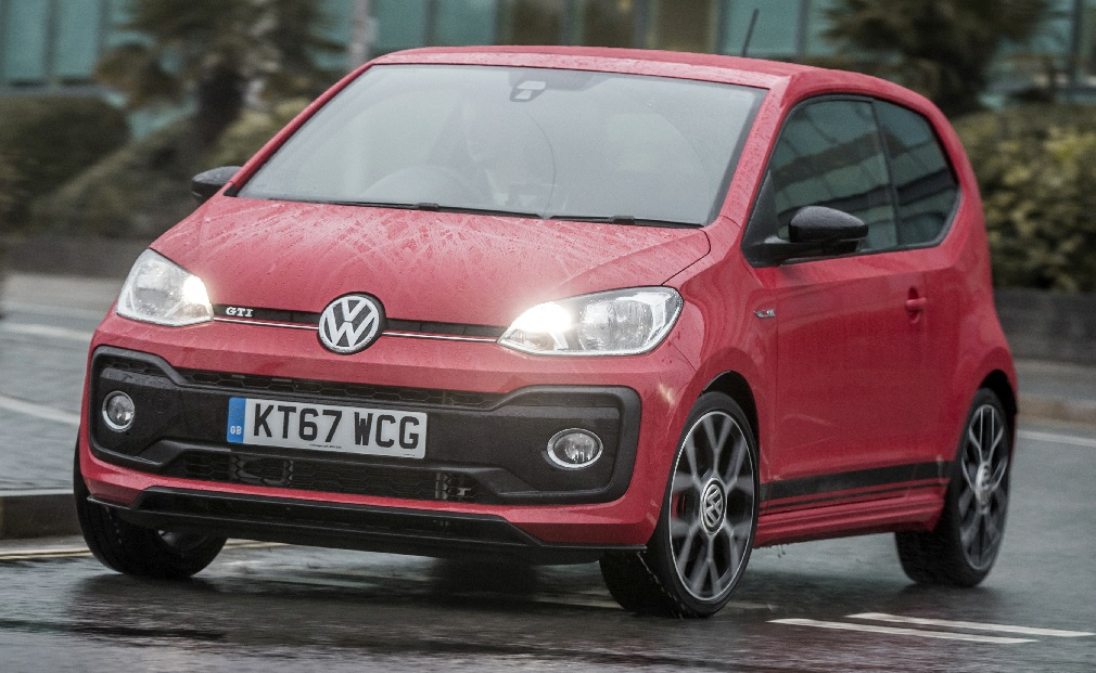 First drive of the Volkswagen up! GTI