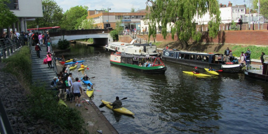 Canal festival makes a splash in Hillingdon
