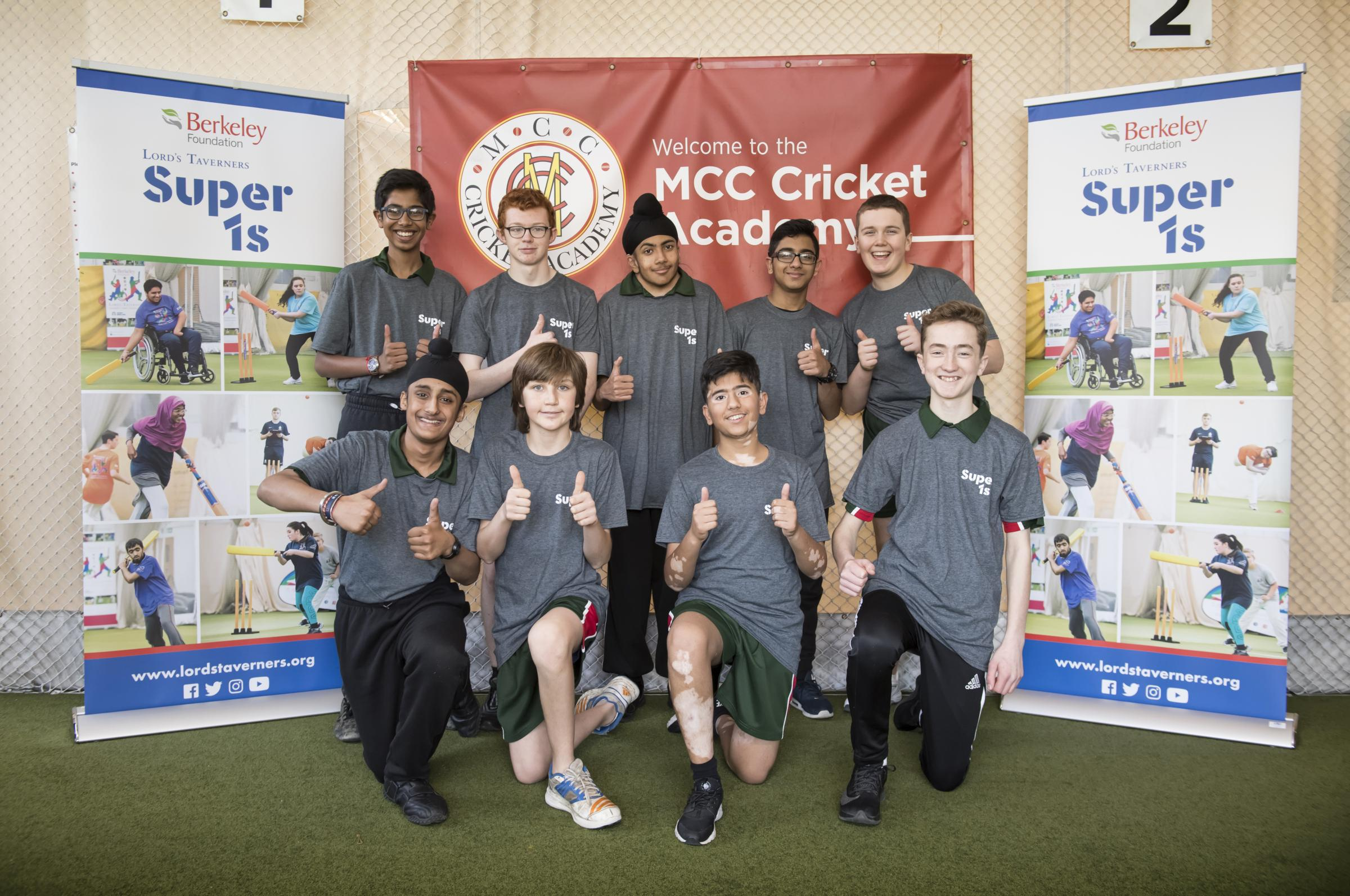 It was a big thumbs up for Hillingdon at Lord's