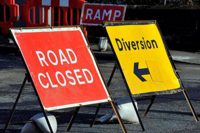 The key roadworks in your area this week