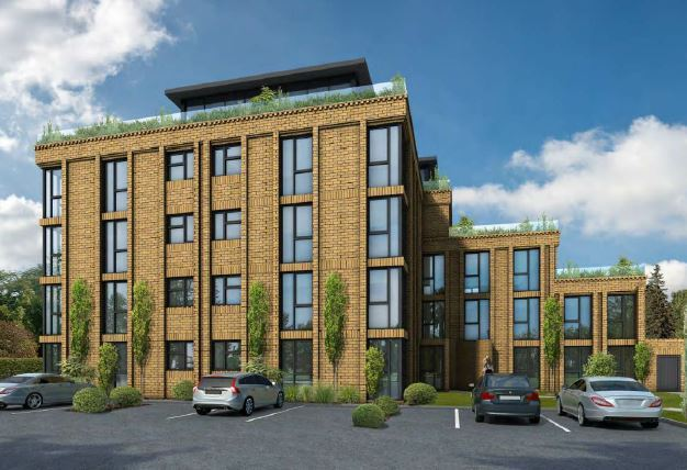 An artists impression of what the flats will look like. Picture source: Watford Borough Council