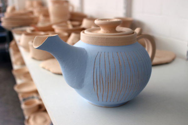 Pottery Teapot Course at Queens Park Arts Centre
