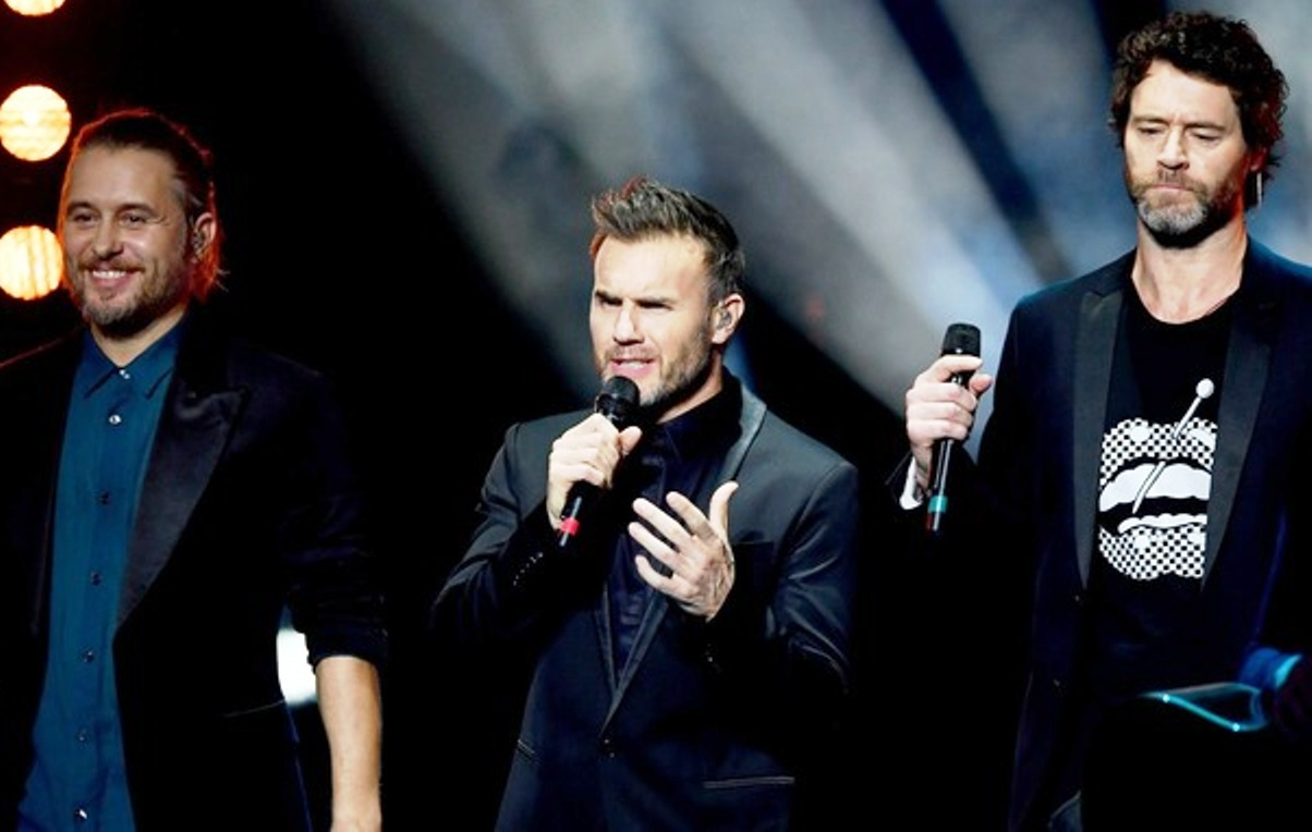 Take That: see them streamed live to Acton