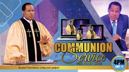 GLOBAL COMMUNION SERVICE WITH PASTOR CHRIS