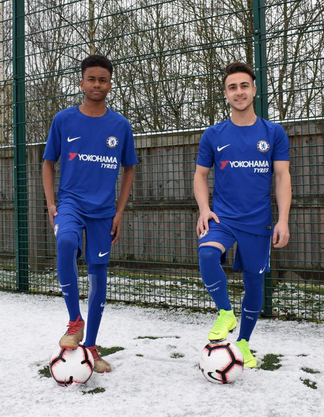 Majid Niknezhad and Jermaine Francis from Uxbridge College Football Development Centre have been selected for the Chelsea Under 19 College Representative Squad.