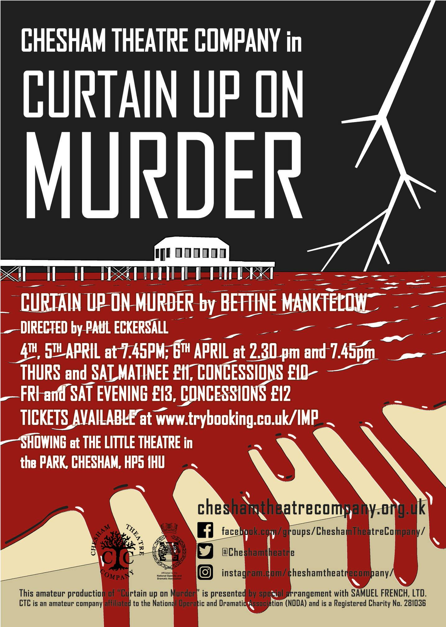 Curtain up on Murder