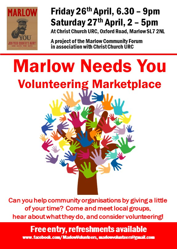 Marlow Needs You! - Volunteering Forum