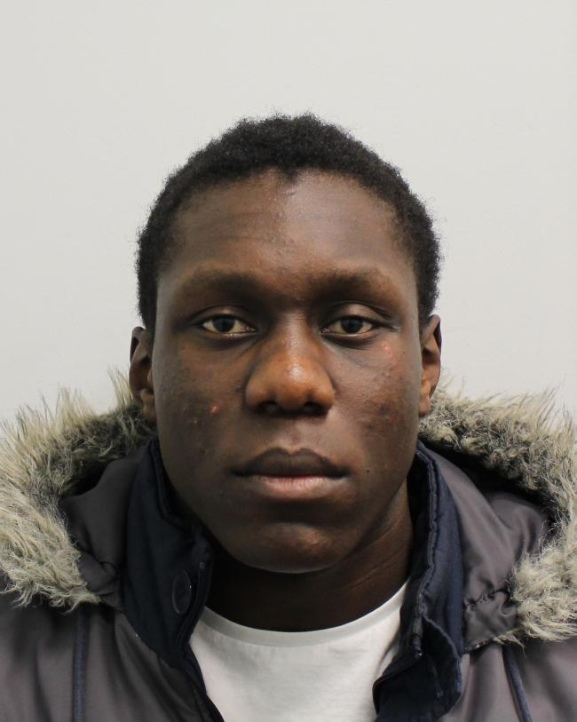 Picured: Joel Amade 18, of Eastwood Road, Ilford, was found guilty of the murder of Jason Isaacs. Photo: Met Police