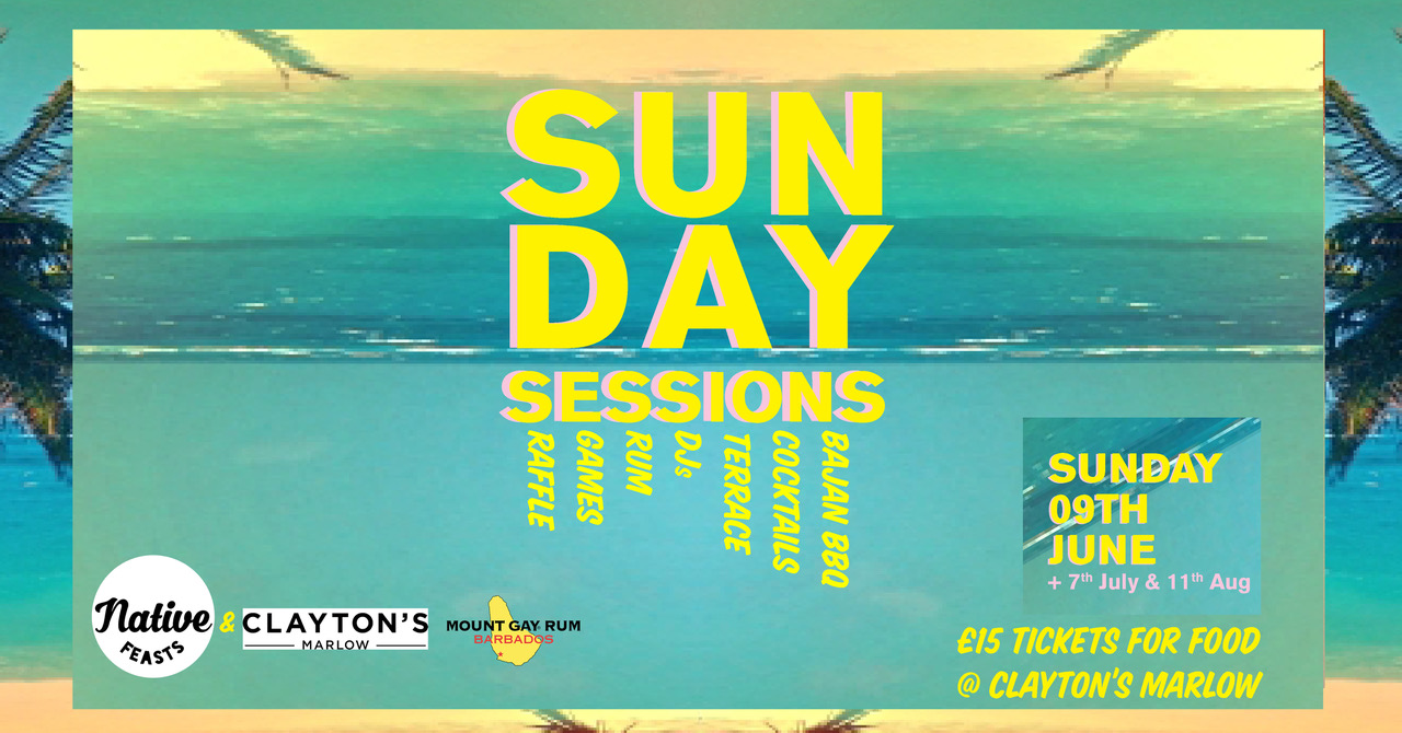 Sun Day Sessions: Bajan BBQ and Cocktail Party