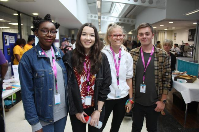Students and staff at Harrow College and Uxbridge College are celebrating after jointly hitting the No. 1 spot in London for success for 16-18 year olds.