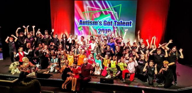 Great dancing: the cast of Autism's Got Talent