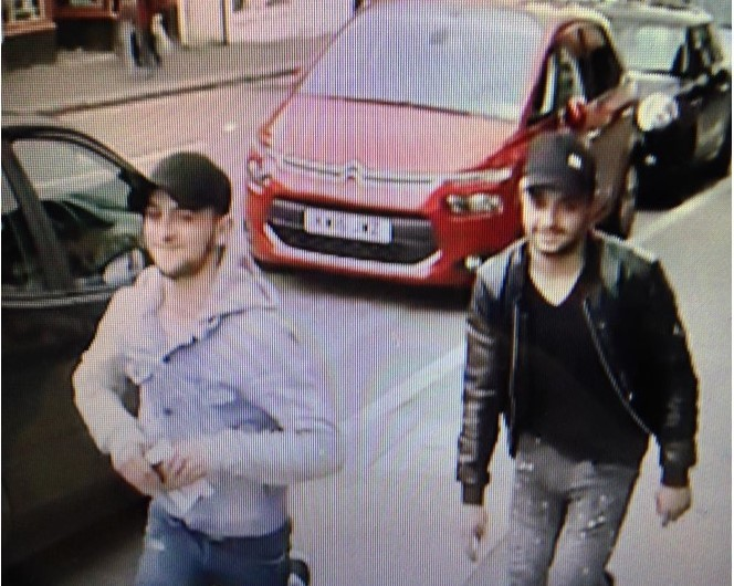 Do you recognise the men pictured? Photo: Herts Police