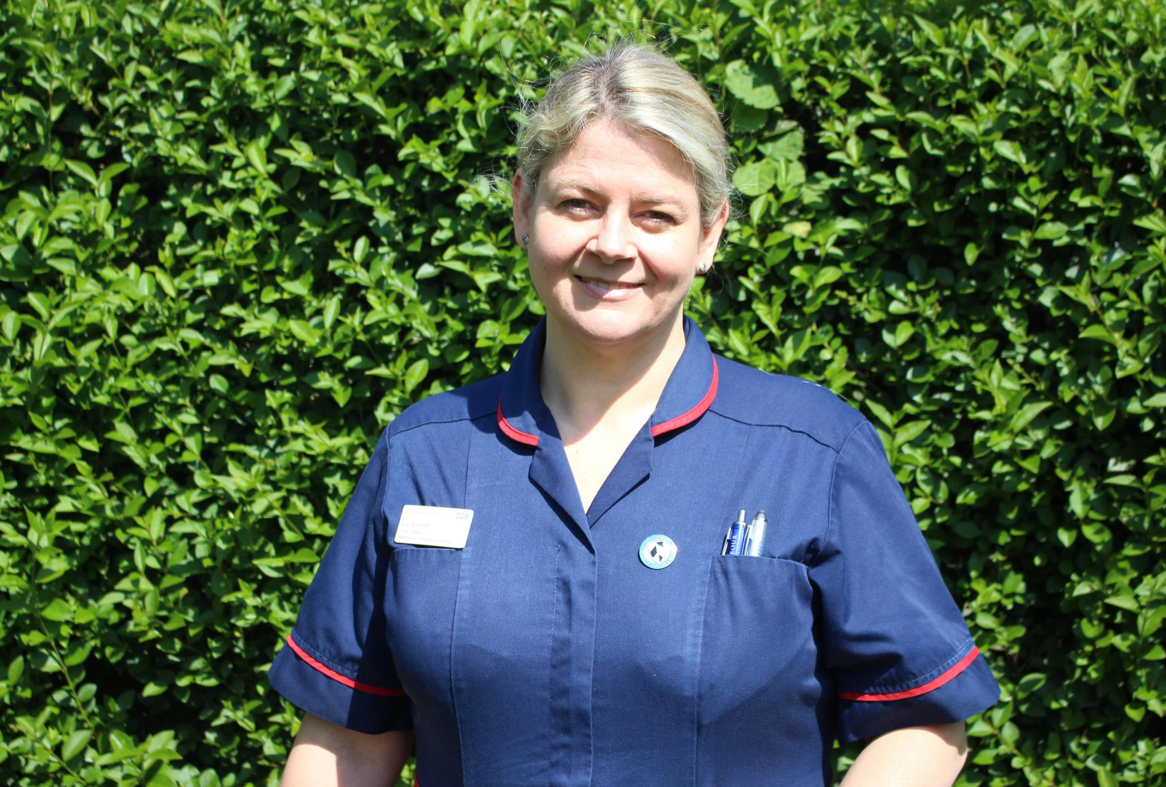 Palliative care team leader Liz Sumner
