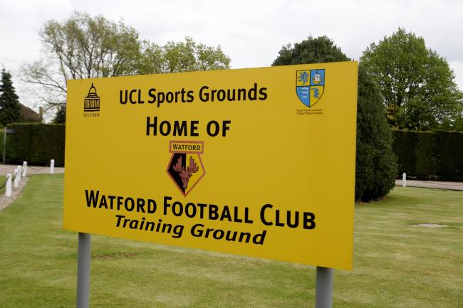 Watford FC training ground between London Colney and Shenley