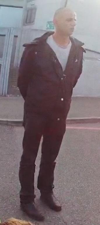 Police believe this man pictured witnessed what happened and they would like him to come forward.Photo: Herts Police