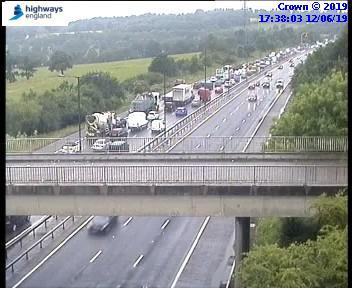 Traffic on the M1 near Watford. Photo: Highways England